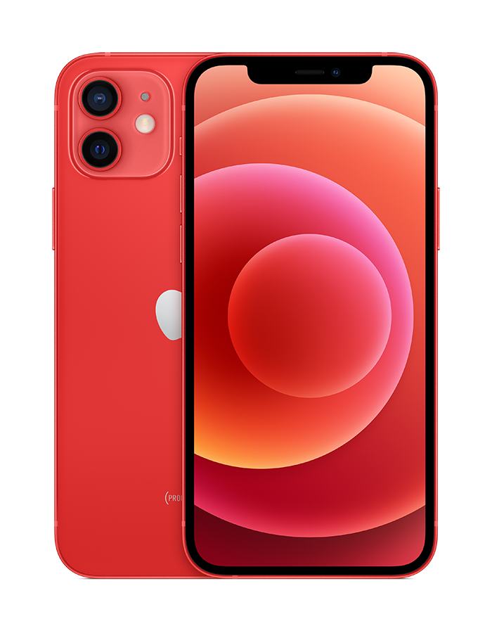iPhone 12 in (PRODUCT)RED